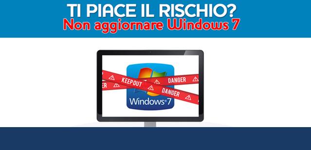 Perché dovresti aggiornare Windows 7?